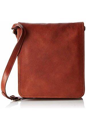 Chicca Tuttoa Unisex Adults' CBC18603GF22Messenger Bag Marrone (Cuoio)