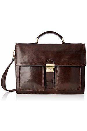 Chicca Tuttoa Women's CBC181010GF22 Top-Handle Bag Brown Marrone (Testa Di Moro)