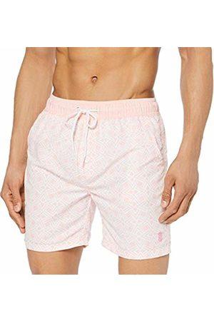 Soul Star Men's Bailey Shorts, ( FFFFFF)