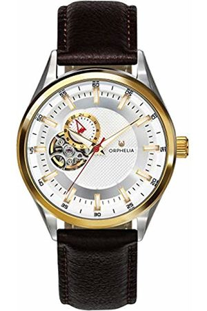 ORPHELIA Mens Analogue Classic Automatic Watch with Leather Strap OR91801