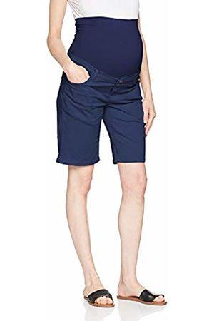Esprit Women Bermudas - Women's Bermuda OTB Chino Maternity Shorts, (Dark )