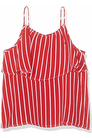 Tommy Hilfiger Girl's Girls Fine Stripe Top Slvls Vest Not Applicable