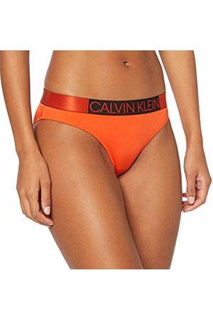 Calvin Klein Women's Classic Bikini Bikini Bottoms, (Mandarin 659)