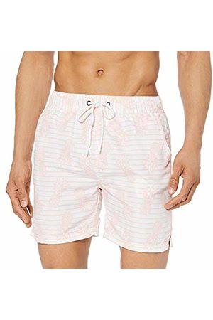 Soul Star Men's Binge Shorts, ( FFFFFF)