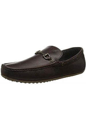 Red Tape Men's Fenton Loafers, (Wood 0)