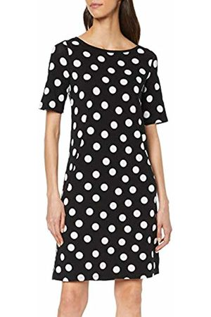 Comma, Women's 88.904.82.8287 Dress, Mehrfarbig / Dots 99m0