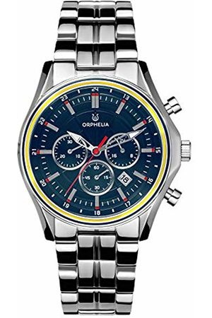 ORPHELIA Mens Chronograph Quartz Watch with Stainless Steel Strap OR82811