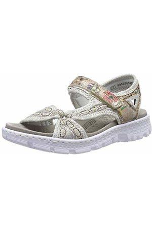Rieker Women's 67889-31 Closed Toe Sandals