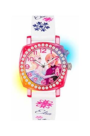 Disney Frozen Children's Quartz Watch with Dial Analogue Display and Rubber Strap FZN3789