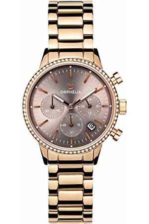 ORPHELIA Womens Chronograph Quartz Watch with Stainless Steel Strap OR32805