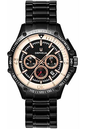 ORPHELIA Mens Chronograph Quartz Watch with Stainless Steel Strap OR82812