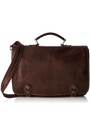 Chicca Tuttoa Women's CBC18255BGF22 Top-Handle Bag Brown Marrone (Testa Di Moro)