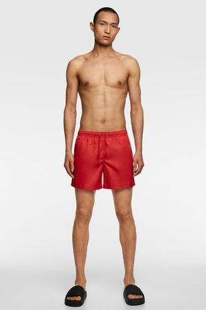 Zara Neon swimming trunks