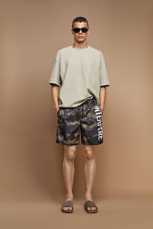 Zara Swimming trunks with contrasting waistband