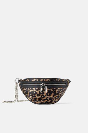 Animal print join life crossbody belt bag