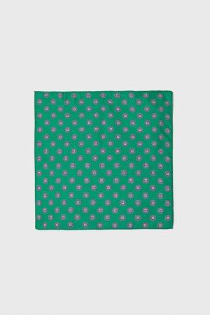Zara Mini print pocket square