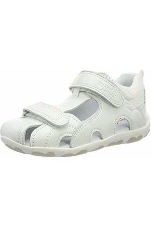 Superfit Baby Girls' Fanni Open Toe Sandals (Weiss Kombi 51) 9.5 UK