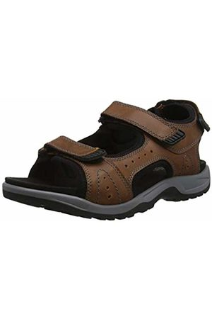 Hotter Men's Action Sling Back Sandals (Dark Tan 021) 7.5 (41.5 EU)