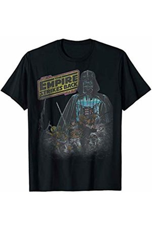 STAR WARS Empire Strikes Back Faded Vintage Poster T-Shirt
