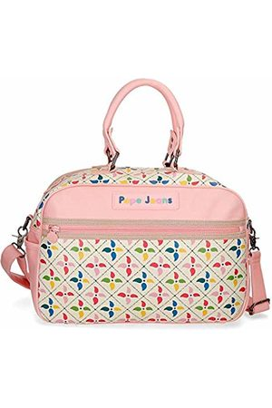 Pepe Jeans Tina Travel Duffle 37 Centimeters 14.8 (Multicolor)