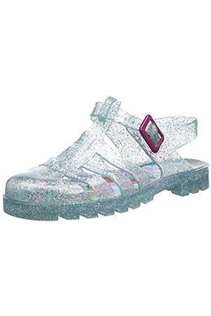 Joules Girls' Jelly Shoe Closed Toe Sandals Aqua