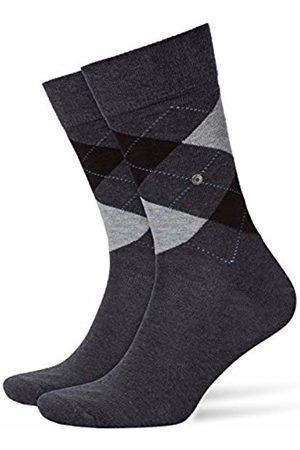 Burlington Falke Men's King Socks, Anthra.Mel