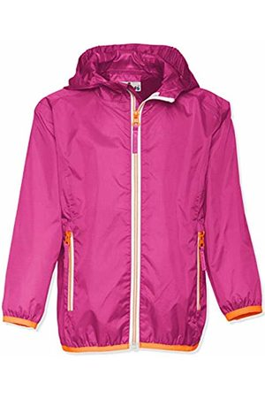 Playshoes Girl's Waterproof Rain Jacket Packable Hoodie Raincoat