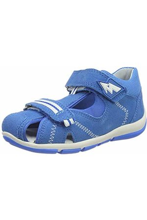 Superfit Baby Boys' Freddy Open Toe Sandals (Blau 81) 7.5 UK
