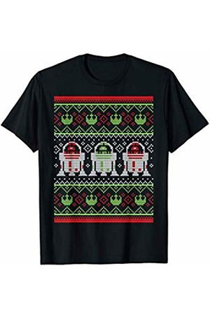 STAR WARS R2-D2 Rebellion Logo Ugly Christmas Sweater T-Shirt