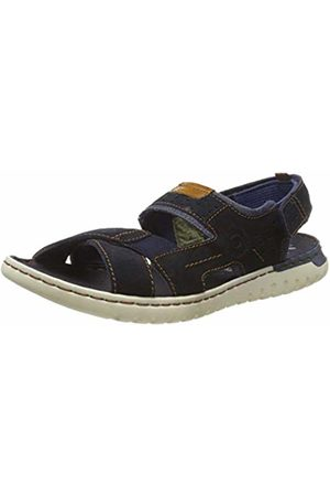 Bugatti Men's 321707821400 Ankle Strap Sandals Dark 4100 13 UK