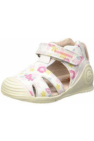 Biomecanics Baby Girls' 192117 Sandals (Blanco Y Flores (Sauvage Y Estampado) B) 2/3/2019 UK 2/3UK Child