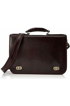 Chicca Tuttoa Women's CBC18960GF22 Top-Handle Bag Brown Marrone (Testa Di Moro)