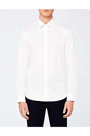 MERAKI Men's Regular Fit Fine Twill Formal Shirt