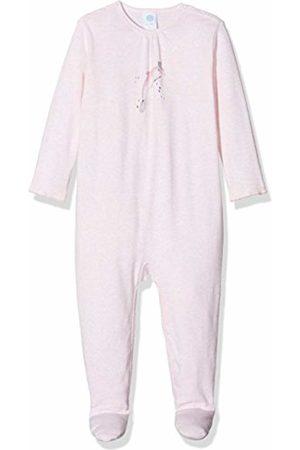Sanetta Baby Girls 221371 Sleepsuit - Pink - 0-3 Months