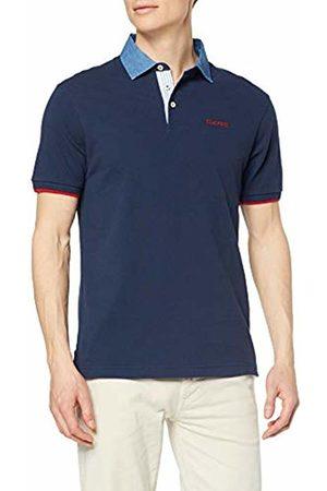 Hackett Hackett Men's Chambray Clr Polo Shirt Medium