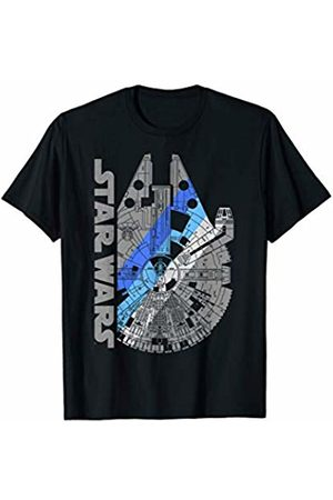 STAR WARS Millennium Falcon Portrait Logo T-Shirt