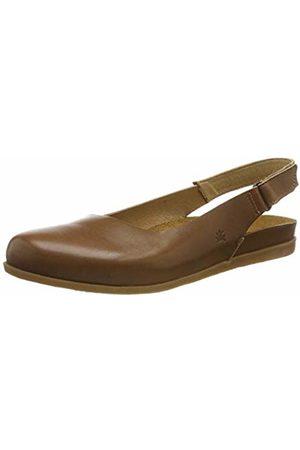 El Naturalista Women's N5252 Vaquetilla Caramel/Zumaia Closed Toe Sandals