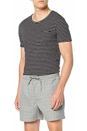 New Look Men's Check Pull On Shorts