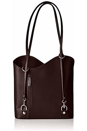 Chicca Tuttoa Unisex Adults' CBC18208GF22Backpack Brown Marrone (Testa Di Moro)