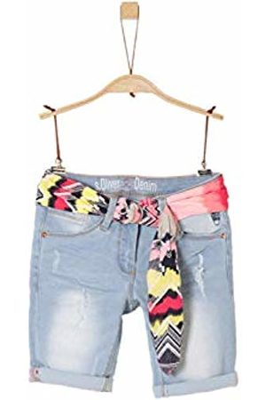 s.Oliver Girl's 66.904.72.2044 Bermudas, ( Denim Stretch 51z7)