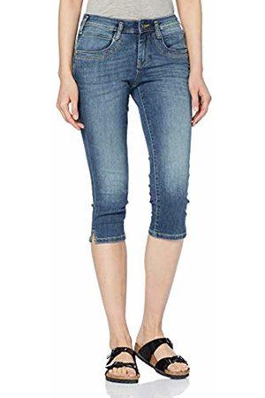 Tom Tailor Women's Alexa Capri Jeanshose Slim Jeans