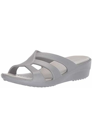 b7698b022 Crocs Women s Sanrah Strappy Wedge Open Toe Heels