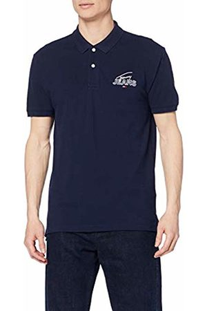 Tommy Hilfiger Men's TJM Solid Graphic Polo Shirt