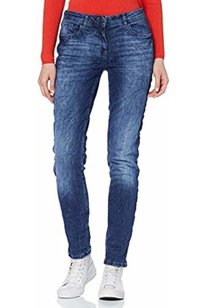 Cecil Women's 371690 Charlize Silver Galon Slim Jeans