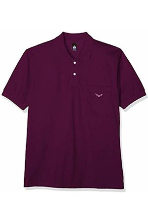 Trigema Men Polo Shirts - Men's 627602 Polo Shirt (Brombeer 099) Large