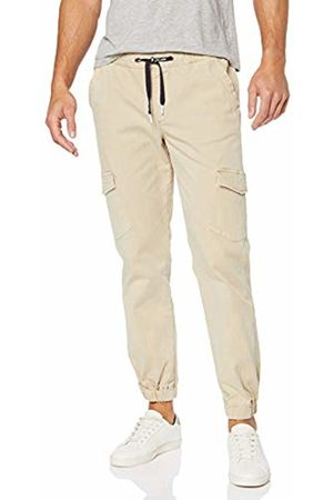 JP 1880 Men's Big & Tall Comfortable Cargo Pants Sand XXXXXX-Large 720229 24-6XL