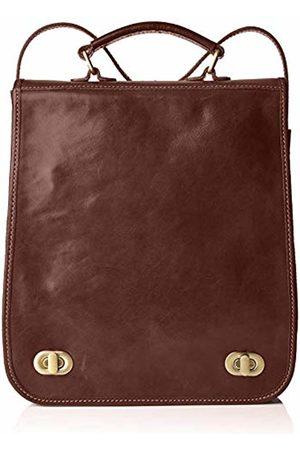 Chicca Tuttoa Women's CBC181305GF22 Top-Handle Bag Brown Marrone (Testa Di Moro)