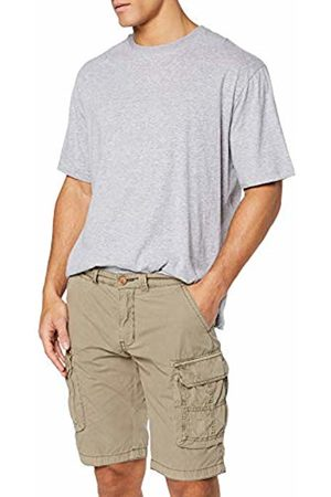 JP 1880 Men's Big & Tall Cargo Shorts Sand 56 720249 24-56