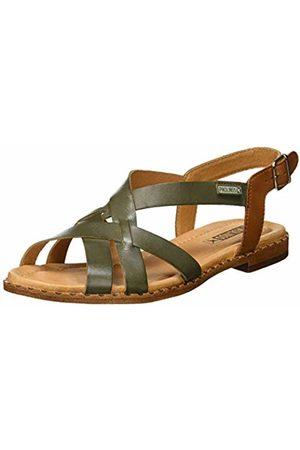 b1acc4dd4c0 Pikolinos Leather Flat Sandals ALGAR W0X