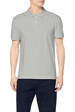 Tommy Hilfiger Men's's TJM Tommy Classics Solid Polo Shirt, (Lt HTR 038)